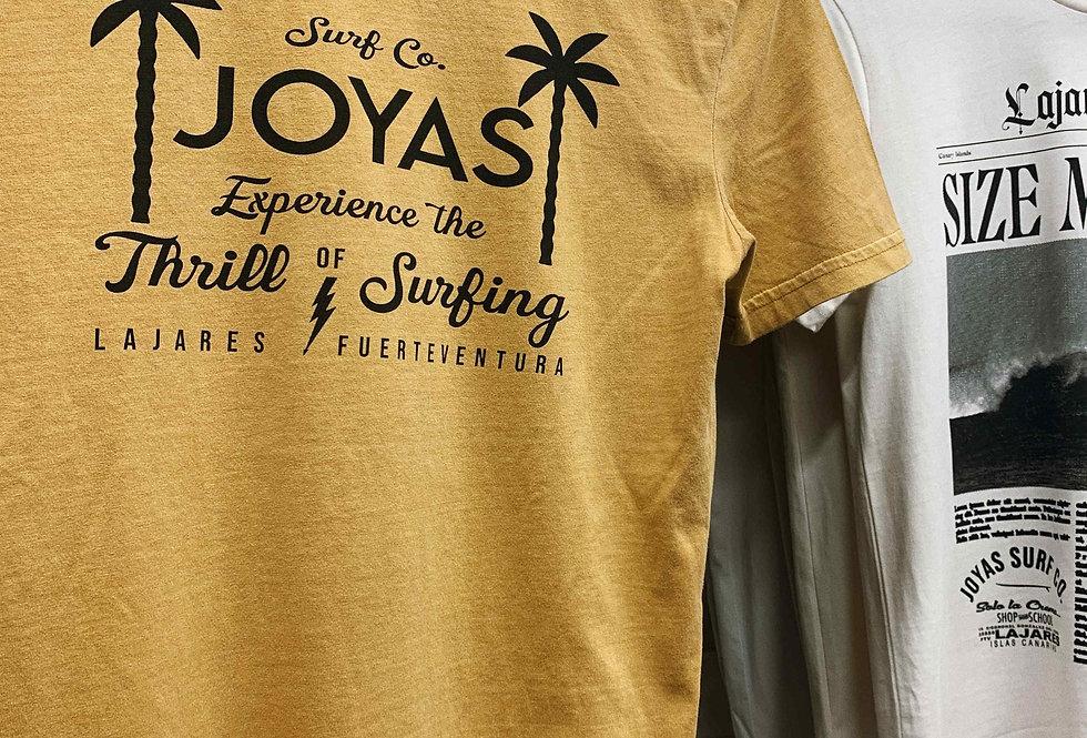 Joyas Surf Co. - THRILL OF SURFING TEE