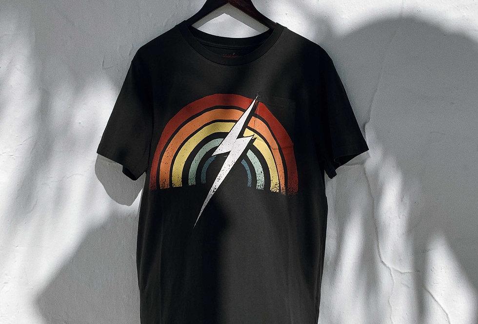 Lightning Bolt - RAINBOW POCKET TEE