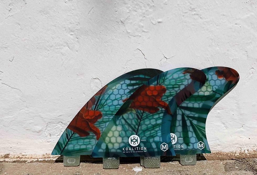 Koalition - Shortboard fins – Aloha Spirit
