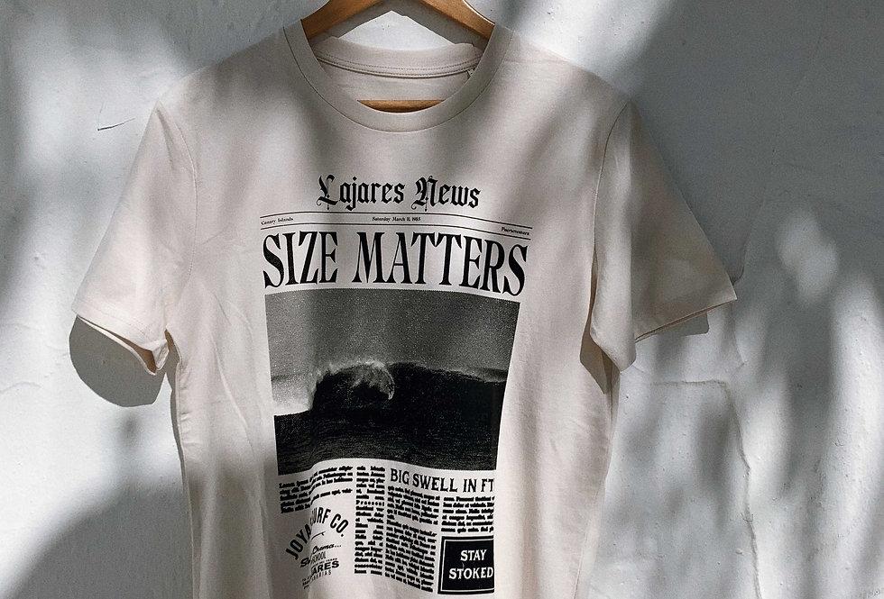 Joyas Surf Co. - SIZE MATTERS TEE