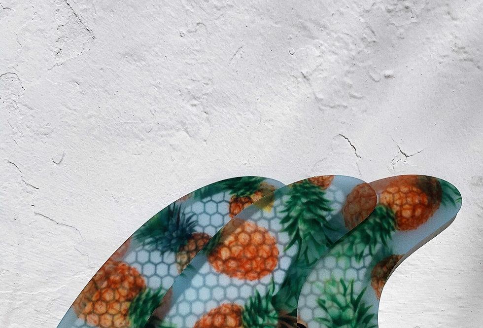 Koalition - Shortboard fins – Pineapple