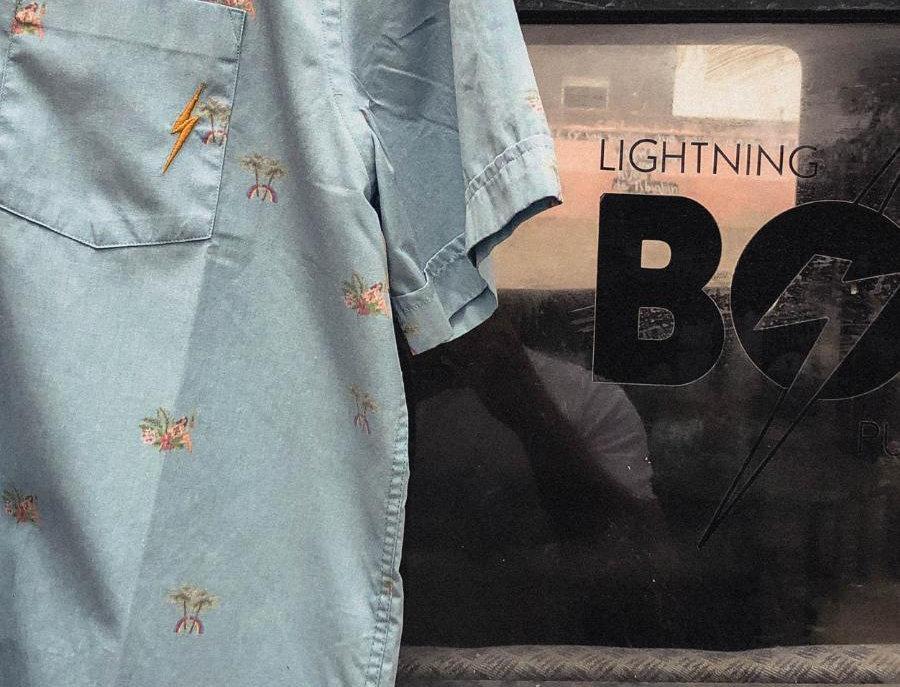 Lightning Bolt - HAWAIIAN SHIRT