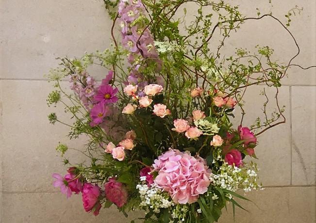 Bouquet table de cocktail