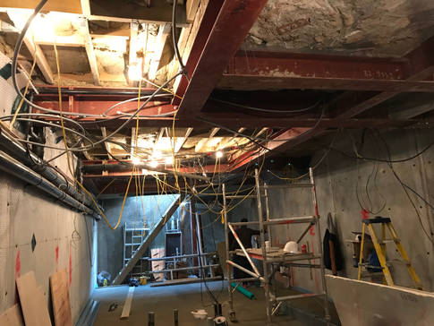 Dec 18 - Basement close to completion in RBKC