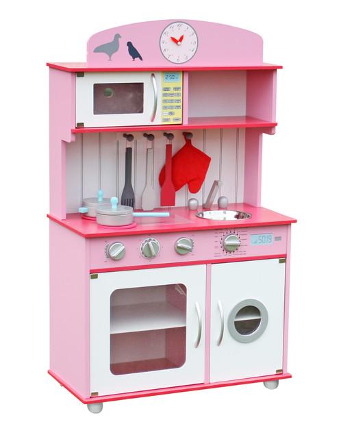 Good Wcf Kinderkche Spielkche Aus Holz Mit Zubehr Rosa Chefkche Rosa Top Q  With Kinderkche Zubehr With Kinderkche