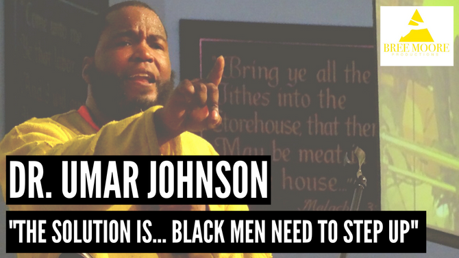 (Go LISTEN NOW) Dr. Umar Johnson speaks about A.D.H.D on the Bree Moore Productions Podcast