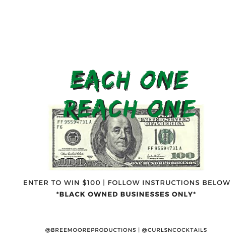 Follow us on Instagram and receive $100... @breemooreproductions