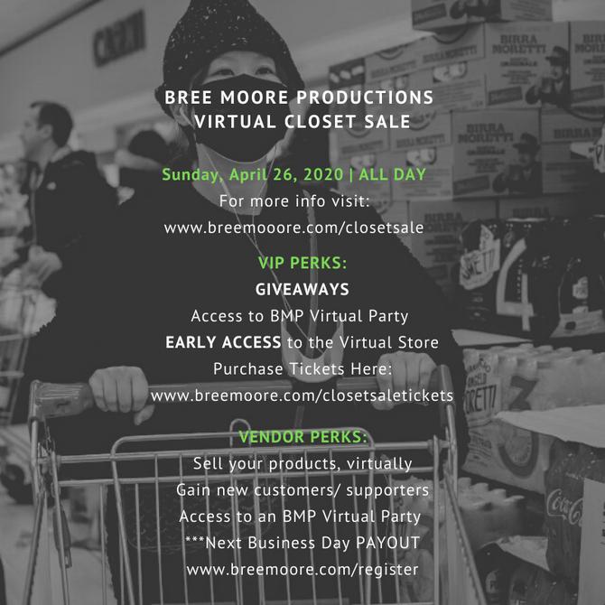 BMP Virtual Closet Sale is BACK