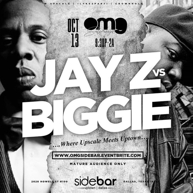 Jay-Z vs. Biggie Party at Sidebar