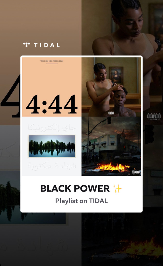 "We created a PLAYLIST ""Black Power""... For US by US... Listen Here"