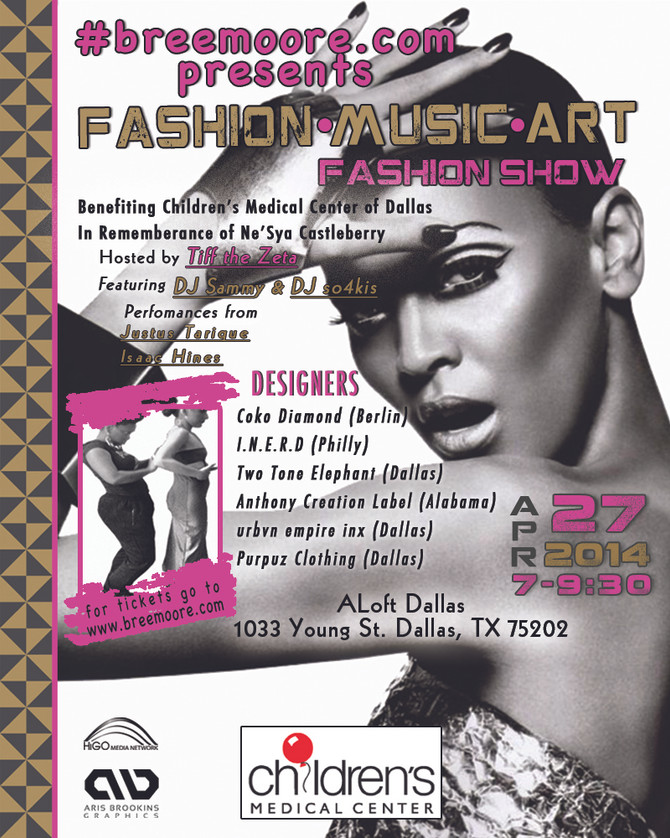 #breemoore.com presents... Fashion, Music, & Art Fashion Show