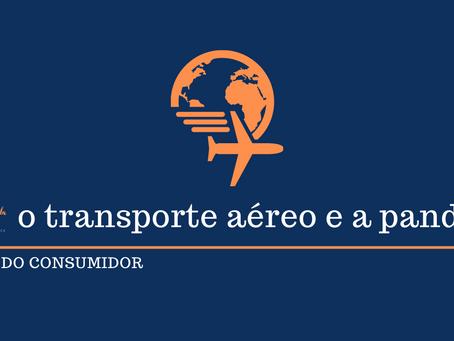 O setor de transporte aéreo nacional e a pandemia