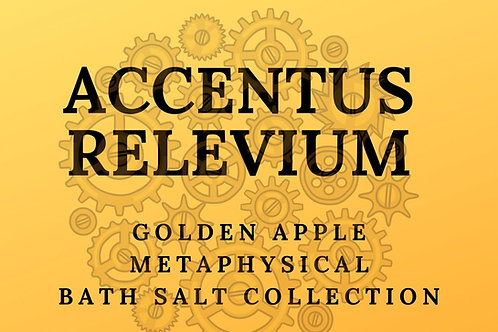 Magickal Bath Salts: ACCENTUS RELEVIUM