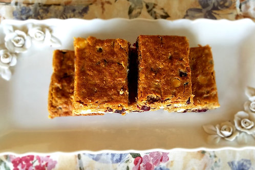 Oatmeal Cranberry Apple Bar