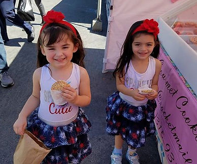 Happy Kids with GG's Sugar Cookies