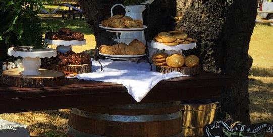 Cookies and Milk Wedding Reception