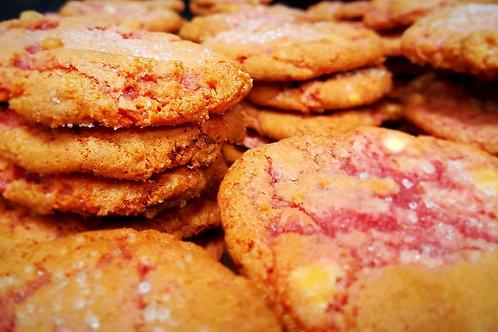 Fresh Strawberry White Chocolate cookie