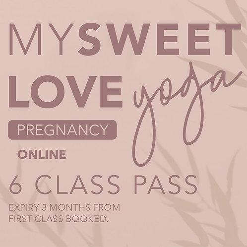 Online Class Pregnancy Gift Pass x6