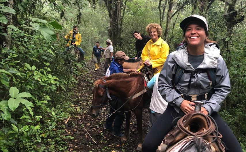 Horesback Trip