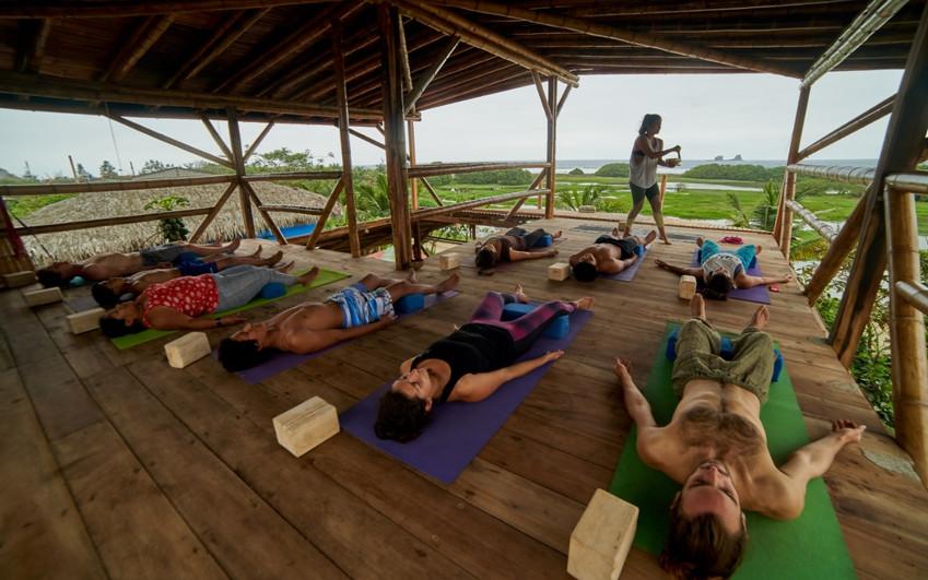 Oceanview Yoga Deck