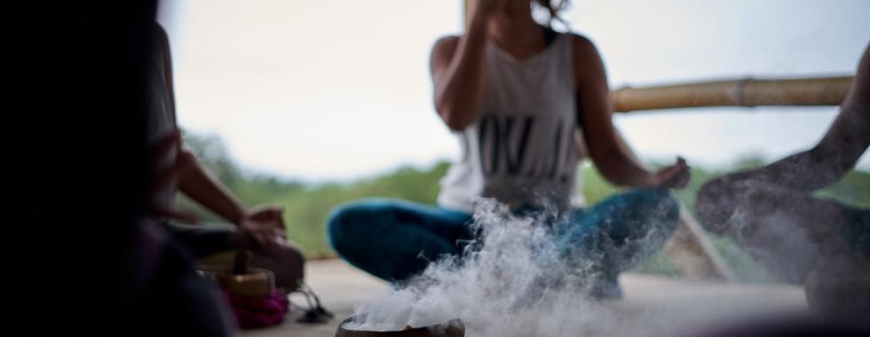 Breathwork in paradise