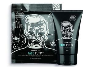 Barber Pro Face Putty Black Peel-Off Mask