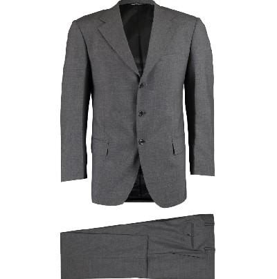 TRUSSARDI Two Piece Grey Wool Suit