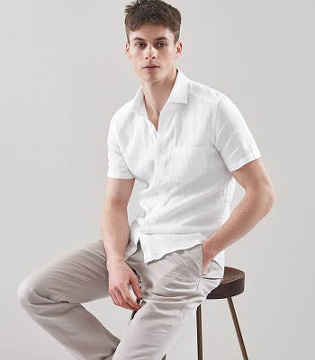 DODD: SHORT SLEEVED LINEN SHIRT