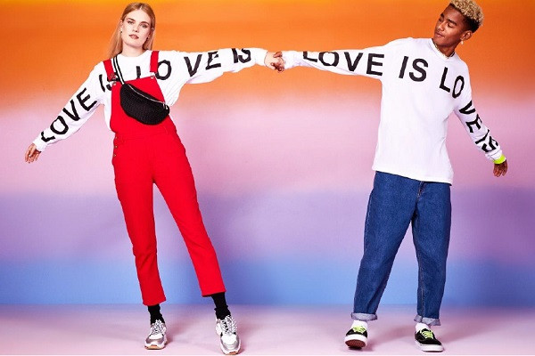 boohooMAN Love is Love Collection
