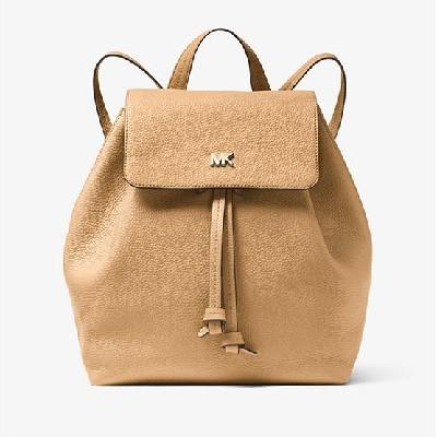 Junie Medium Pebbled Leather Backpack