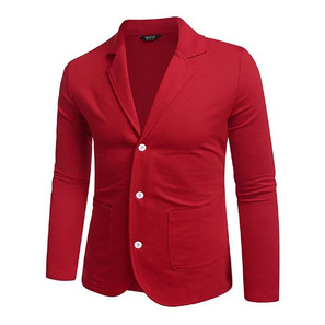 How to Wear a Red Blazer