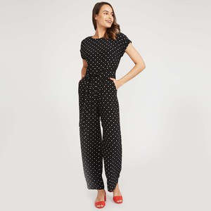 Oxford Spot Jumpsuit