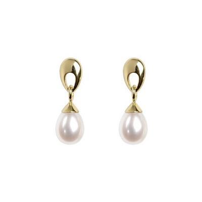 Hampton Teardrop Pearl Earrings