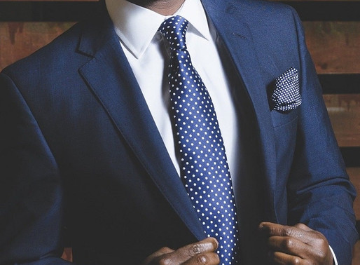 How to Wear a Blue Suit
