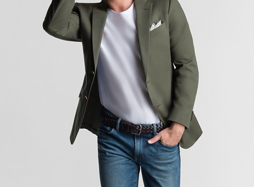 Can You Wear A T-Shirt With A Blazer?