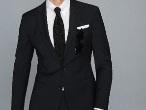 Pairing a Black Suit with Shirts and Ties