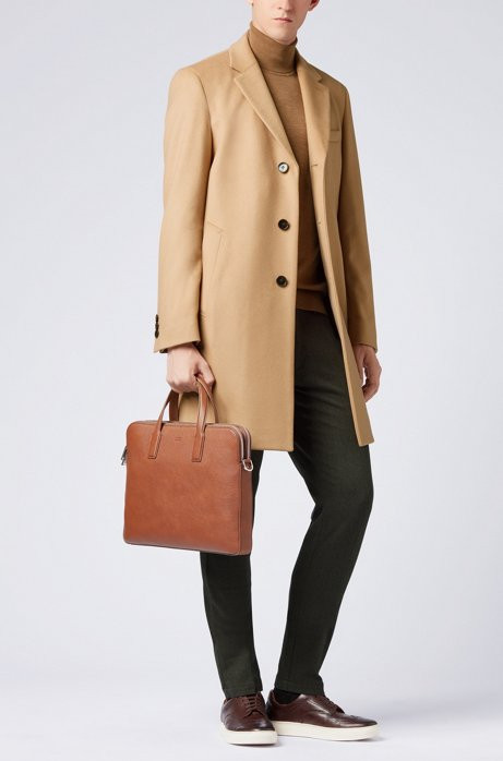 Formal coat in wool and cashmere
