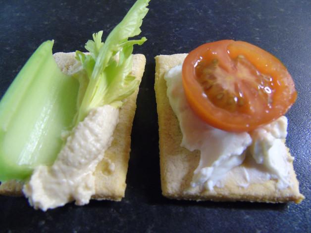 Chickpea Crackers