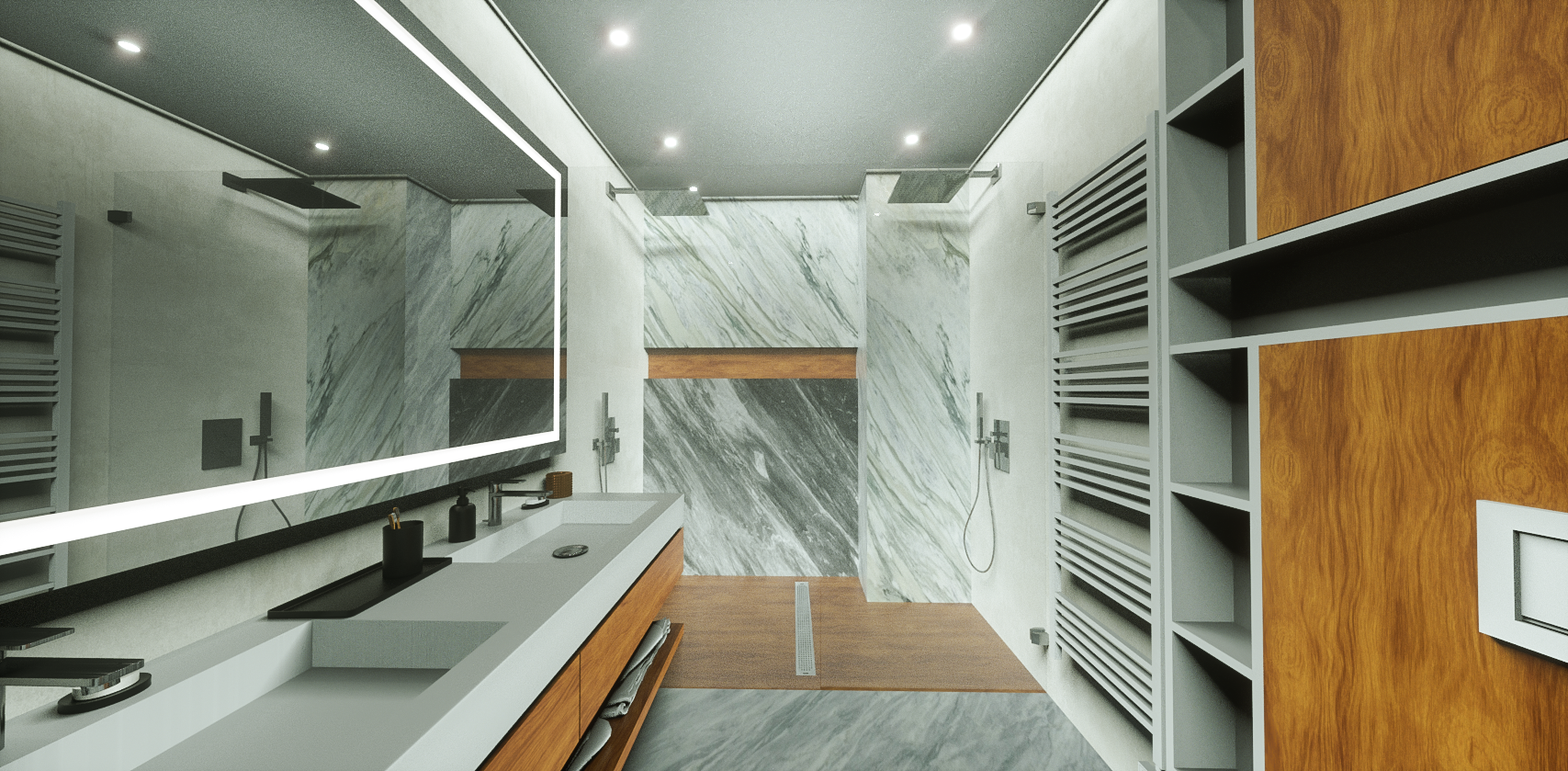 DOUBLE SHOWER ROOM -9