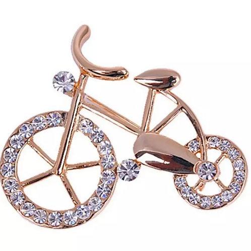 """Брошь """"Велосипед"""""""