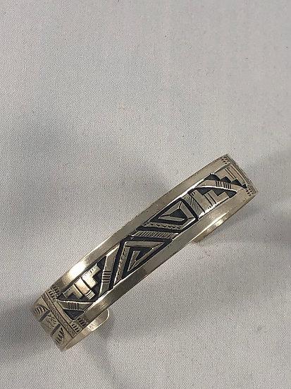 Navajo overlay cuff