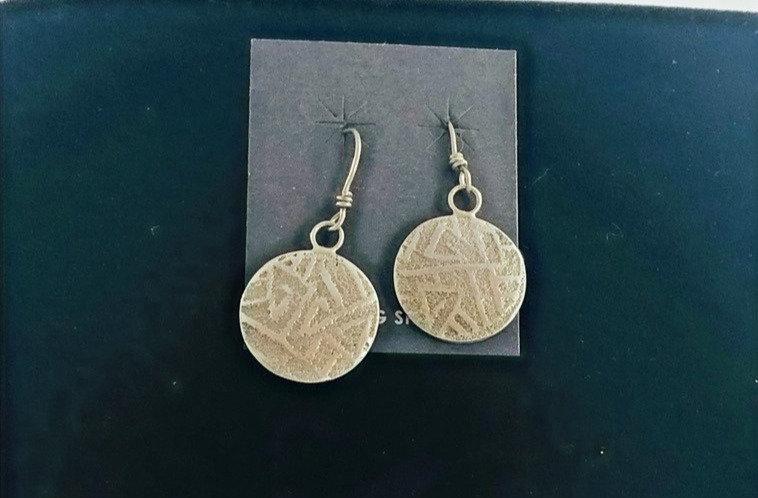 Hopi Sandcast earrings