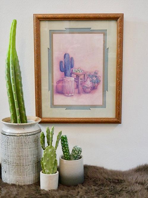 Vintage Southwestern Framed Wall Art