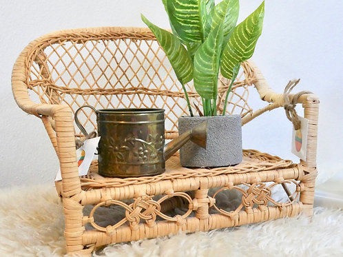 Vintage Mini Brass Watering Can