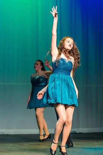 Top Hat Senior song and dance Abby Hayde