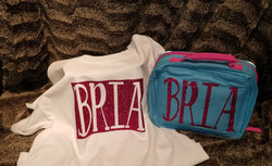 Personalized Tee and Lunch Box