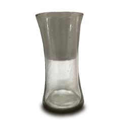 Curved Medium Round Clear Vases