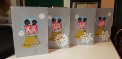 Bitmoji Snow Globe Christmas Card (Set of 10)