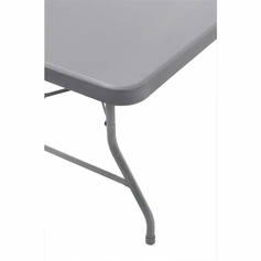 Plastic, White Foldable 6 ft Table