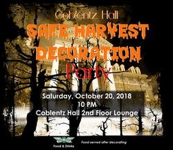 Coblentz Hall Safe Harvest Decoration Pa